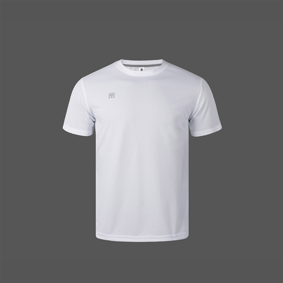 MOOTO Dri-Fit Crew Neck Shirt (White)