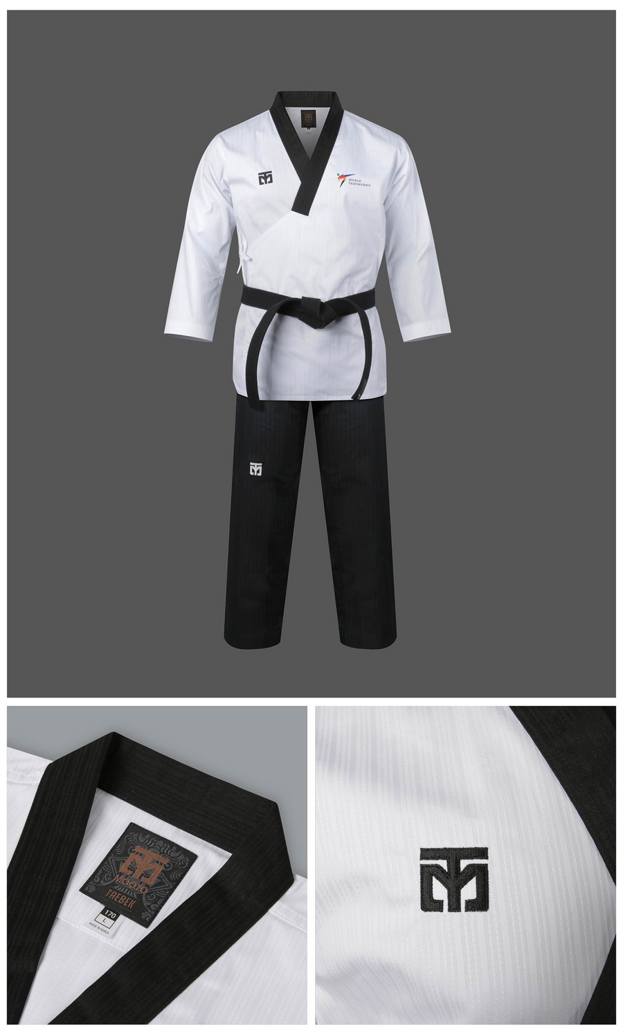 MOOTO Poomsae Uniform (Dan Male)