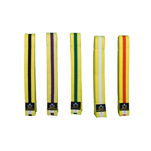 BMA Yellow Belt With Stripe