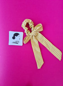 SCRUNCHIE PARIS AMARILLO
