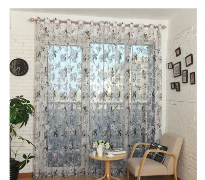 Beauty Curtains Floral Design