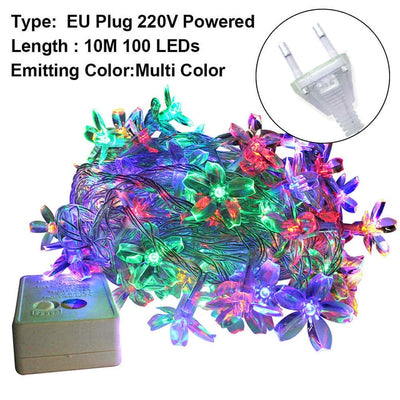 LED Flower Fairy String Light For Decoration