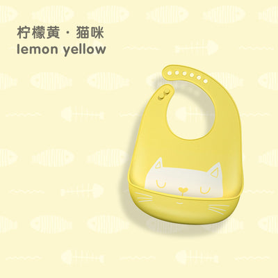 Adjustable Waterproof Silicone Baby Bibs