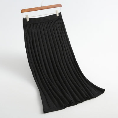 Knitting Long Skirt For Women