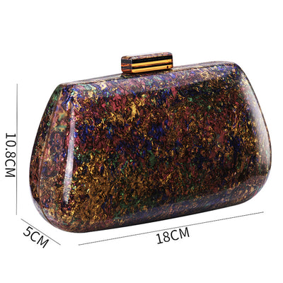 Luxury Acrylic Clutch Bag For Women