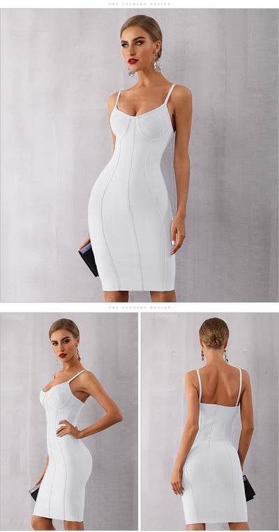 Spaghetti Strap Party Women Dress