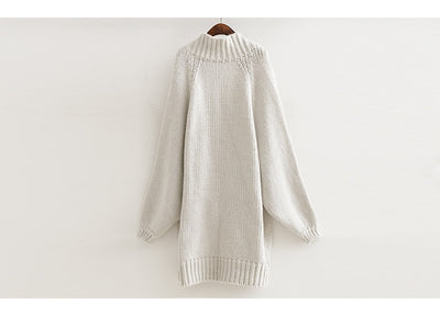 Long Sleeve Oversize Knitting Women Overcoat