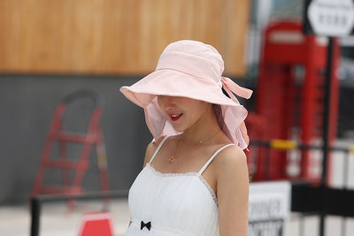 Wide Brim Sun Hat For Women