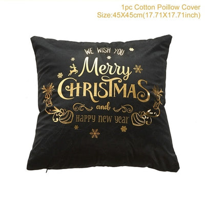 Cover Cushion Christmas Decoration