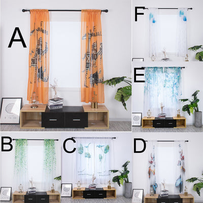 Fabric Window Curtain#3