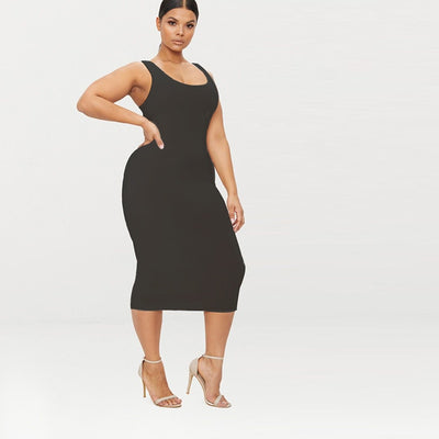 Casual Sexy Bodycon Dresses Women Plus Size