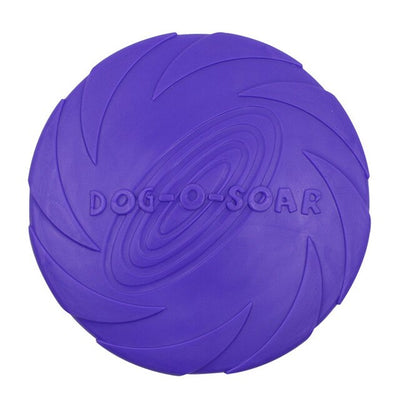 Dog Toy Training Rubber Flying Disc