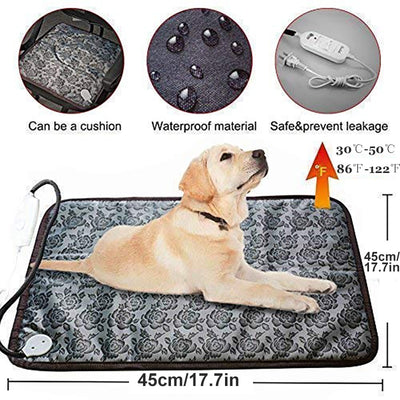 Adjustable Heating Pad For Pet
