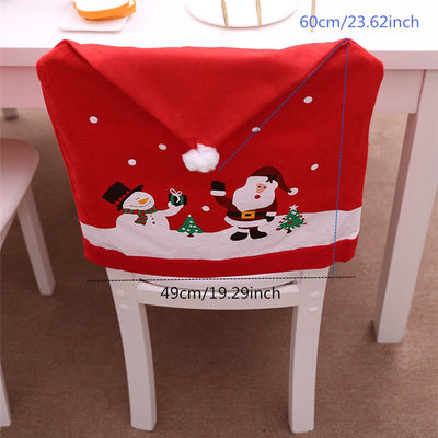 Chair Covers Christmas Party Decoration