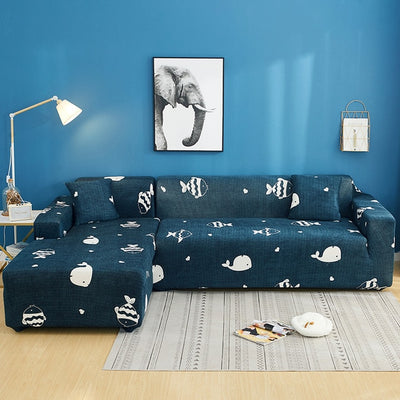 2 pcs Elastic Sofa Corner Cover