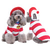 Christmas Halloween Costume Clothes With Hat for Pet