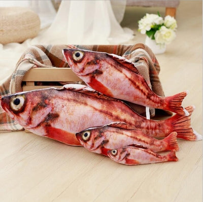 3D Catnip Fish Shape Cat Toy