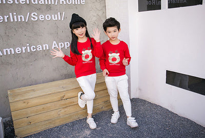 Outfits Sweater Family Clothing Set