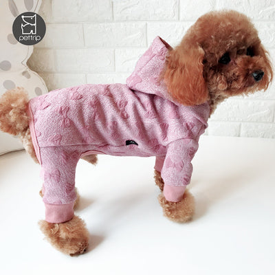 Warm Jumpsuits Clothing For Autumn And Winter  For Pet