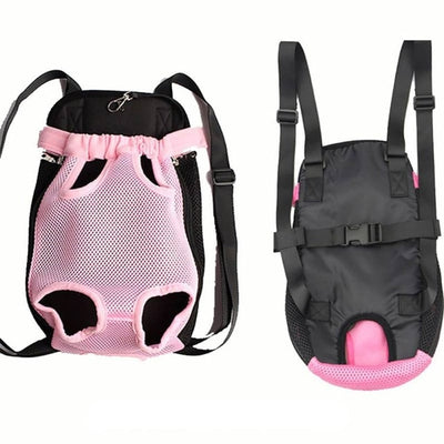 Dog Backpack Traveling Adjustable  For Pet Carrier