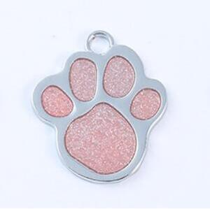 Free Engraved Tag Paw Plate Collar for Pet