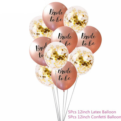 Bride To Be Balloon and Party Supplies