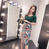 High Waist Printing Women Skirts