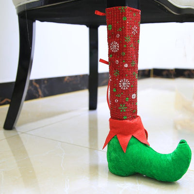 Table or Chair Leg Cover For Christmas Decoration