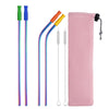 304 Stainless Steel Drinking Straw Set