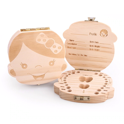 Milk Teeth Storage Organizer