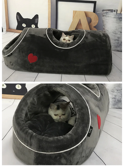 Cave House Warm Home Bed For Pet