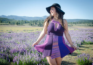 Lupine Crochet Dress