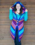 PDF Pattern, The Chevron Hooded Vest