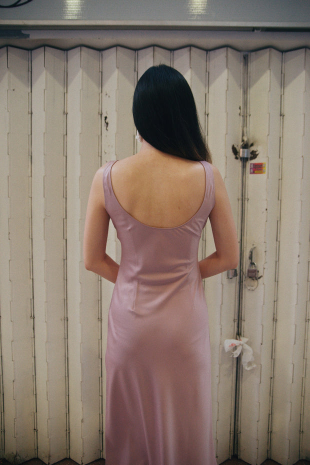 Save the Date dress in dusty rose - Dear Samfu