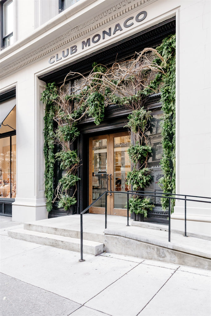 Holiday at Club Monaco's 5th Avenue Flagship
