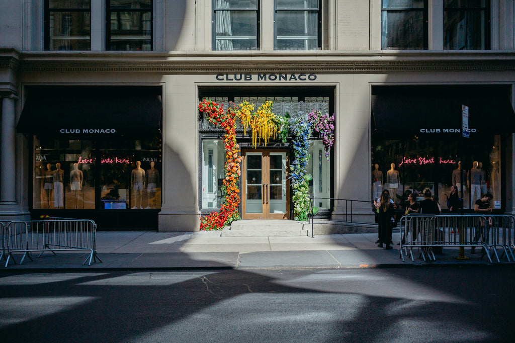 Pride Week with Club Monaco
