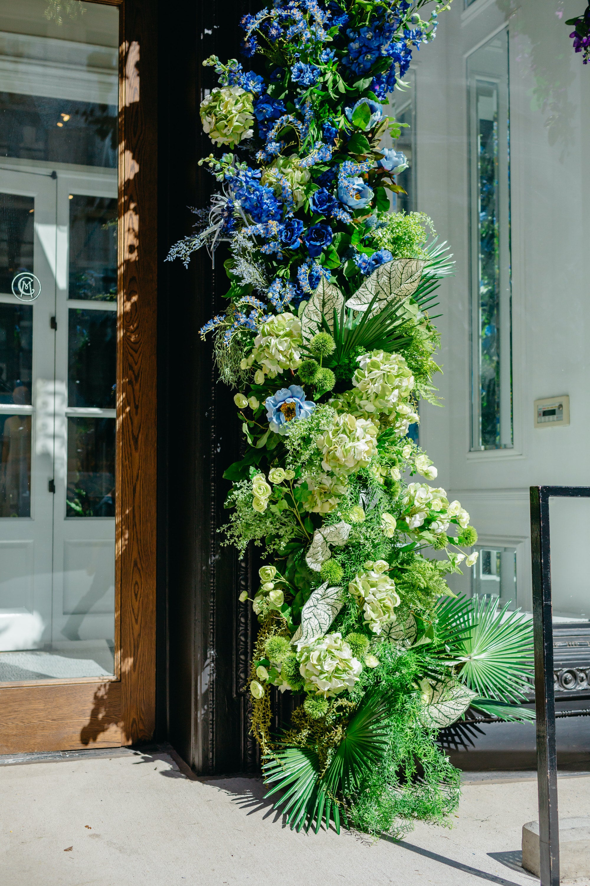 Club Monaco Pride Week 2019 - 5th Avenue Flagship - Delaine Dacko - Brave Floral