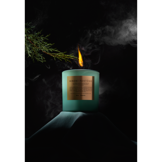 Boy Smells Candle, Hinoki Fantome (The Rituals Collection)