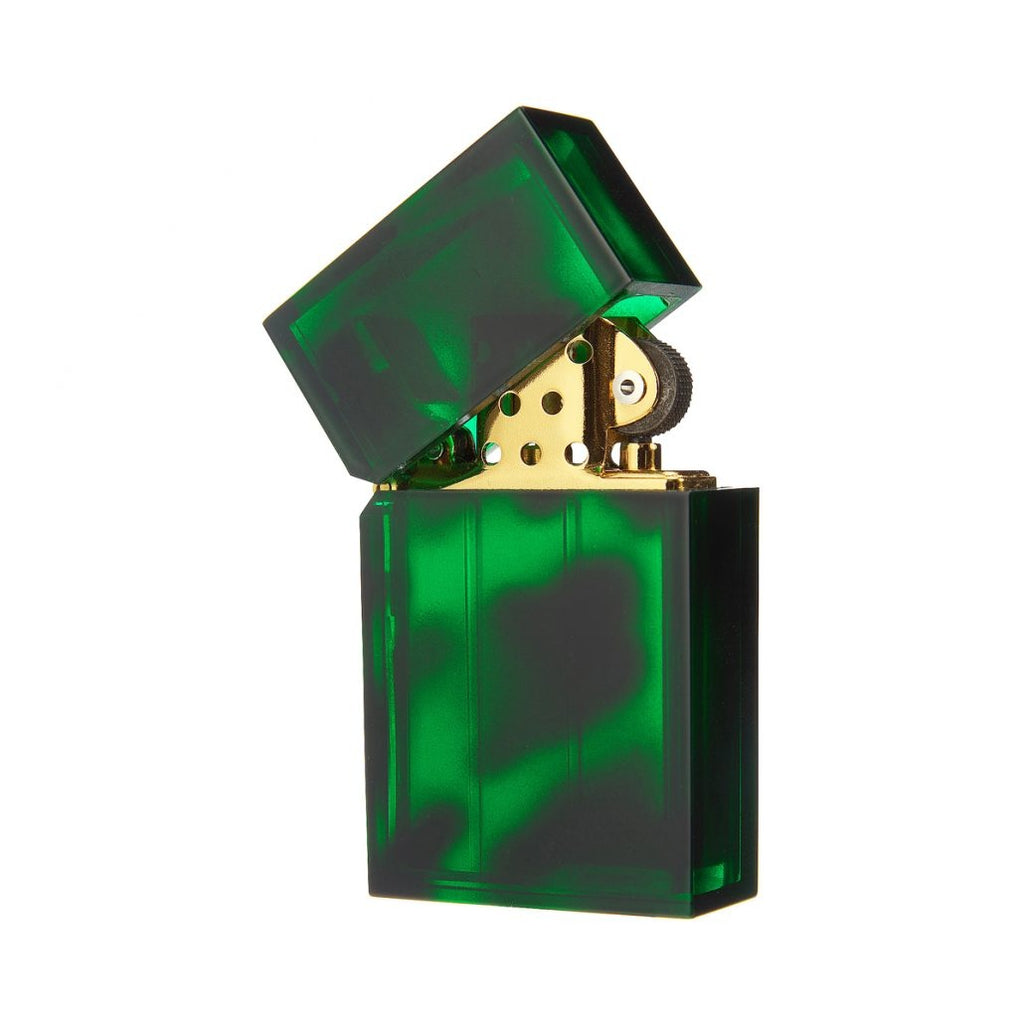 Hard Edge Marble Green Lighter