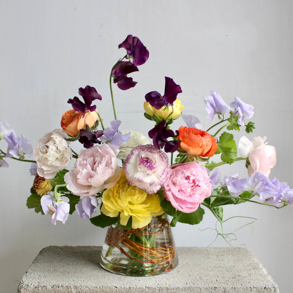 Mother's Day Edit: Peony & Ranunculus Arrangement (Luxe)