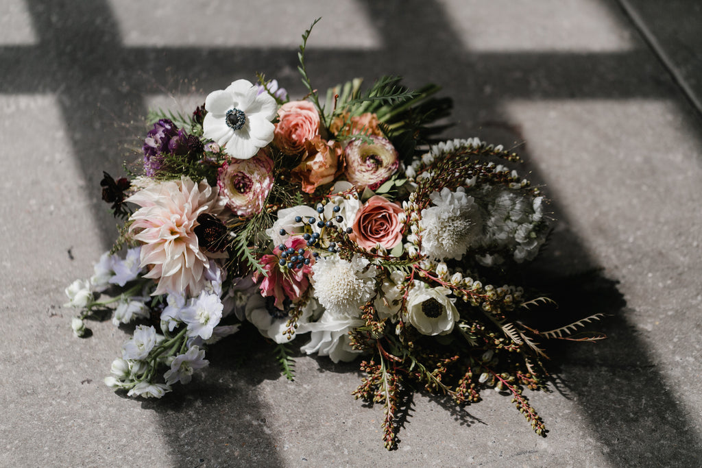 The Elopement Duo, Couple's Personal Flowers
