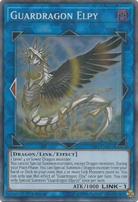 *** GUARDRAGON ELPY *** SUPER RARE MINT//NM SAST-EN051 YUGIOH!