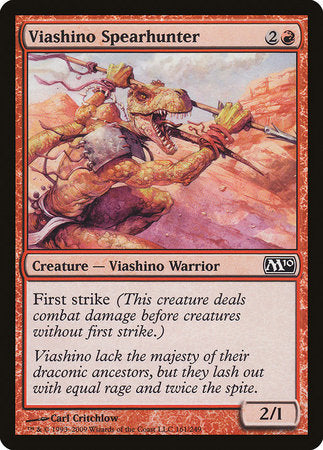 Viashino Spearhunter [Magic 2010] | TCG Master