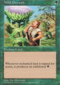 Wild Growth [Fifth Edition] | TCG Master