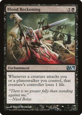 Blood Reckoning [Magic 2013] | TCG Master