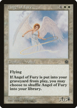 Angel of Fury [Portal Second Age] | TCG Master