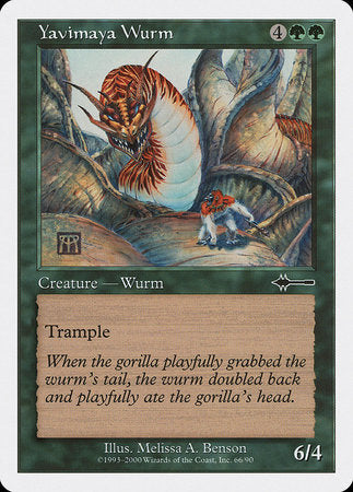 Yavimaya Wurm [Beatdown Box Set] | TCG Master