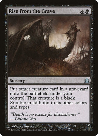 Rise from the Grave [Commander 2011] | TCG Master