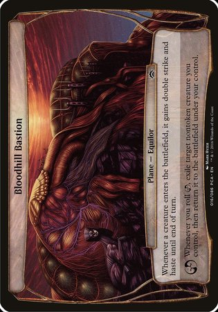 Bloodhill Bastion (Planechase Anthology) [Planechase Anthology Planes] | TCG Master