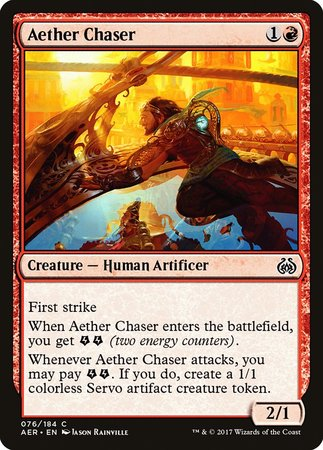 Aether Chaser [Aether Revolt] | TCG Master